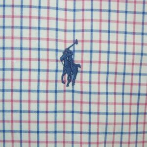 Ralph Lauren gingham button Up Check Long Sleeve